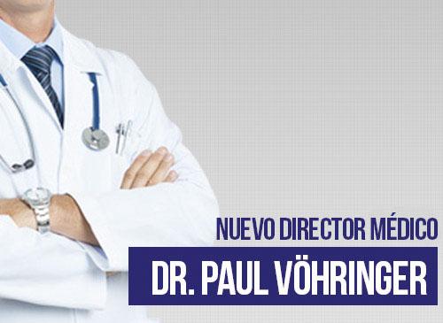 nuevo Director médico